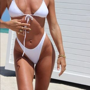 Xl heavy manners gardenia high cut bikini bottom
